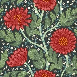 Arts and Crafts Chrysanthemum