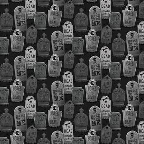 punny tombstones
