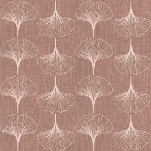 ginkgo bilboa leaves-blush