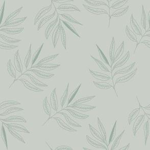 Leaves -  olive