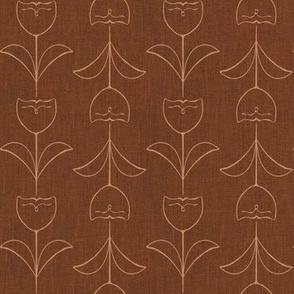 Tulip - terracotta