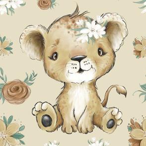 26x36 lion blanket