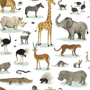 African Animals {medium}