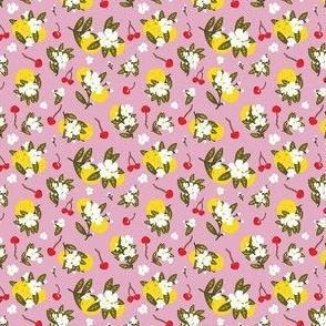 Pickleballs and Cherry Blossoms (Blush) Mini