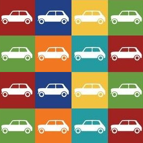 Mini Cooper Squares - Bright Basics