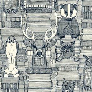 books and blankies indigo pearl small