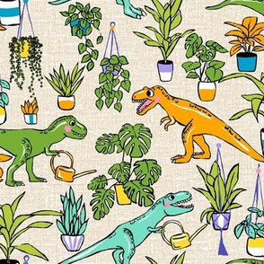 Dinosaurs and Houseplants