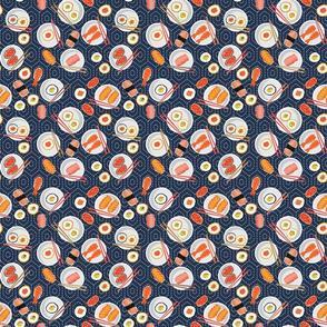 Sushi Party Sashiko Small