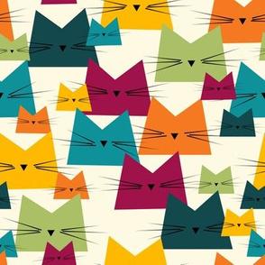 cats - nala cat bohemian - geometric cats