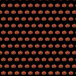 EVIL PUMPKINS black background
