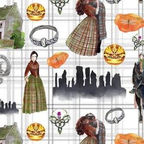 Outlander Scottish Elements- medium scale