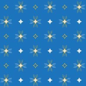 Pawnee Night Sky - Blue