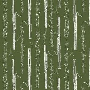 Woodland Bassoon (Green)
