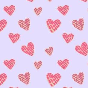 Heart Pan Dulce Concha