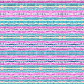 Pastel Kaleidescope with stripes