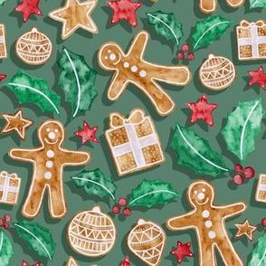 Christmas Treats - green
