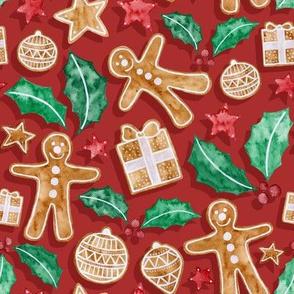 Christmas Treats - red