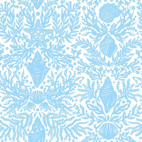 Seashell Damask