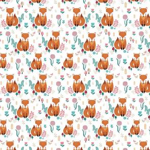 cute fall fox