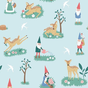 Deers and gnomes SMALL