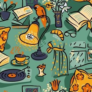 Cozy Reading - large