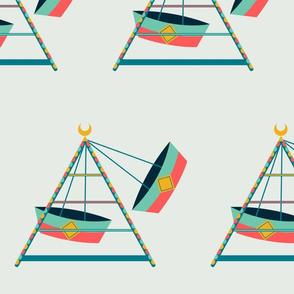 Boat Swings - Gray (jumbo)