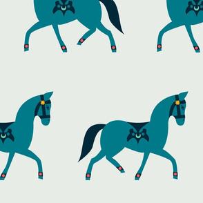 Arabian Horse Parade - Gray (jumbo)