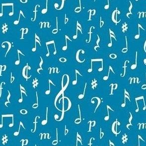 musical - blue