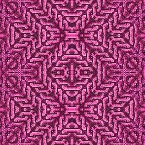 chevron knots-fuchsia
