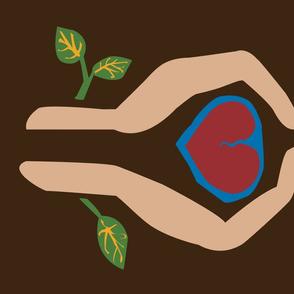 Hand-Heart-Hold
