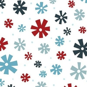 Retro Snowflakes