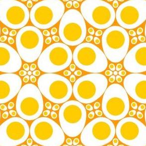 R6 eggs - yolks