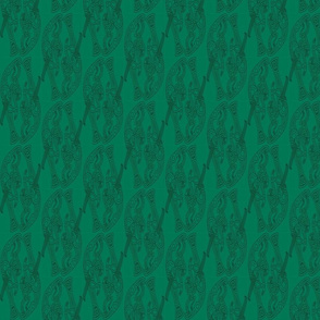 germantic broa birds greens