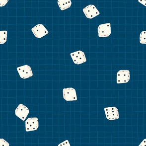 Roll of the dice (blue)