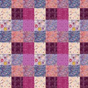 Purple Floral Quilt