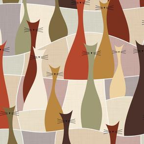 cats - ollie cat - roycroft
