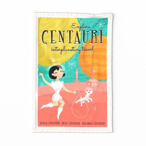 Explore Centauri_Retro Poster