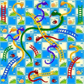 SNAKES and LADDERS repeating