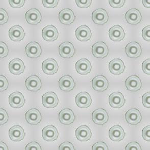 Cylindrical Light Grey Tiled Design