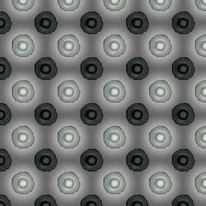 Cylindrical Grey Background