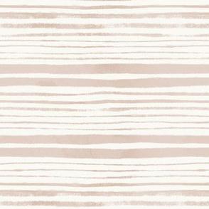 Delicate Blush Stripes