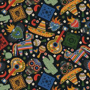 Mexican Folk Art. Day of dead