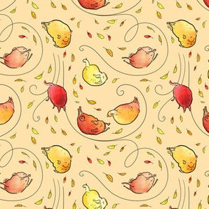 Leaf Pugs - butternut