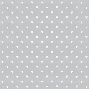 White hearts on Grey (smaller)