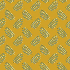 Leaves - mustard