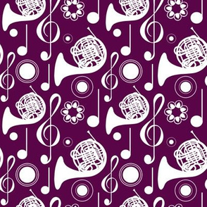 French Horn Notes - Plum