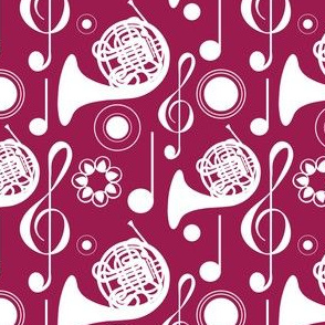French Horn Notes - Wine