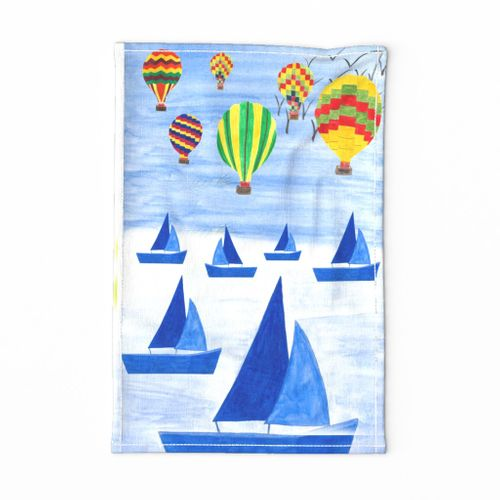 Travel on Balloons and Boats
