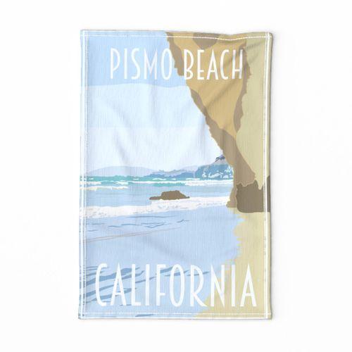 Pismo Beach Vintage Postcard