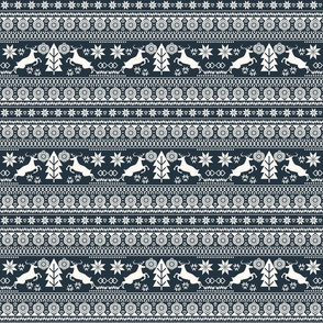 Scandinavian Navy Christmas Decorative